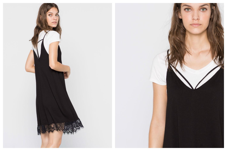 slim dress with t shirt
