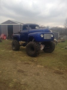F1 Ford Mud Truck For Sale