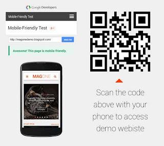 MagOne Magazine Blogger Template Responsive Mobile Friendly