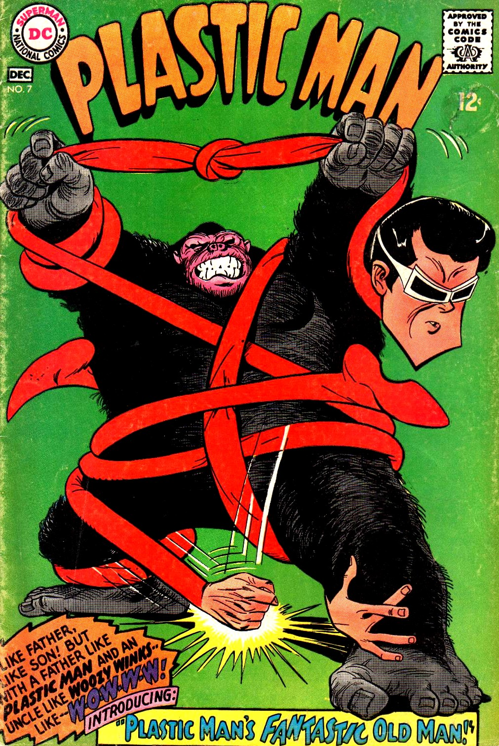 Plastic Man (1966) issue 7 - Page 1