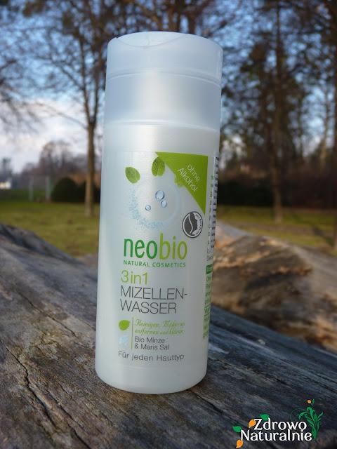 NeoBio - Płyn micelarny 3W1 z bio-miętą i solą morską