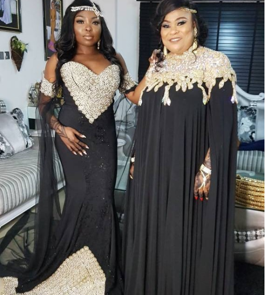 Sola Sobowale and her daughter are stunning for the premiere of TWP2