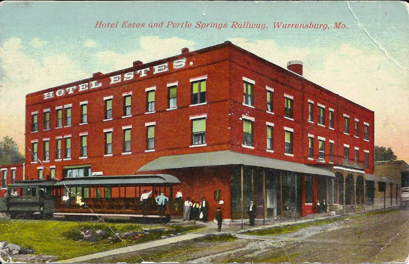 Johnson County And Western Missouri History 1837 First Hotel Fairfield Inn Suites Warrensburg