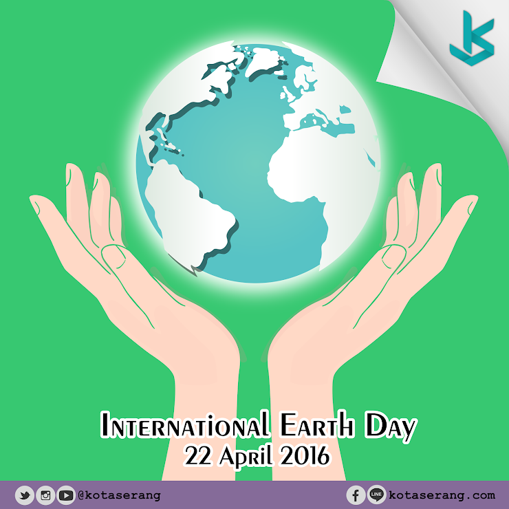 Gambar Vector - Hari Bumi Internasional 2016