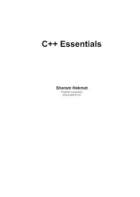 C++ Essential in PDF Download eBook