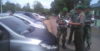 Kelengkapan Kendaraan Anggota Yonif 726 Tamalatea Sanrego Diperiksa, Ini Hasinya