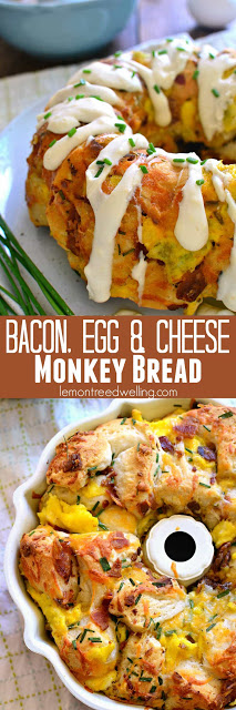 BACON, EGG AND CHEESE MONKEY BREAD