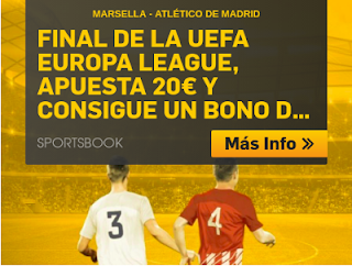 betfair promocion Marsella vs Atletico 16 mayo