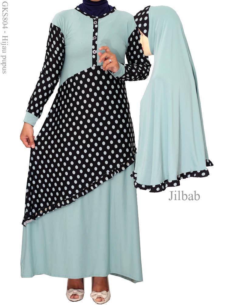 Contoh gambar baju gamis muslimah yg lagi trend elneddy Baju gamis terbaru dan harganya 2015