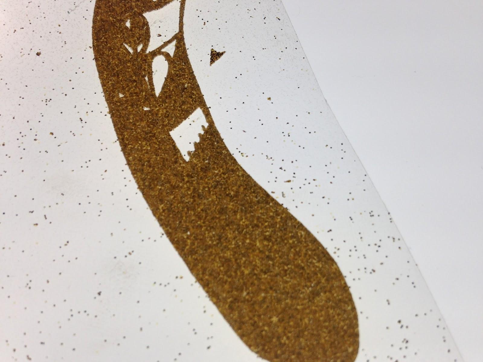 Using An Ottlite Light Box For Weeding Vinyl Silhouette