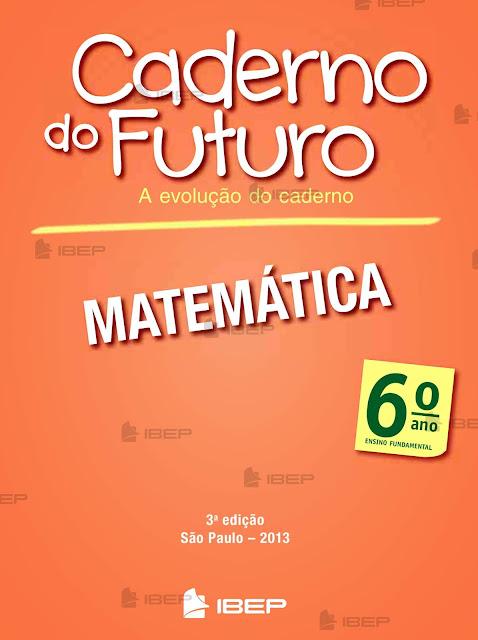 CADERNO DO FUTURO 6 ANO MATEMÁTICA PROFESSOR