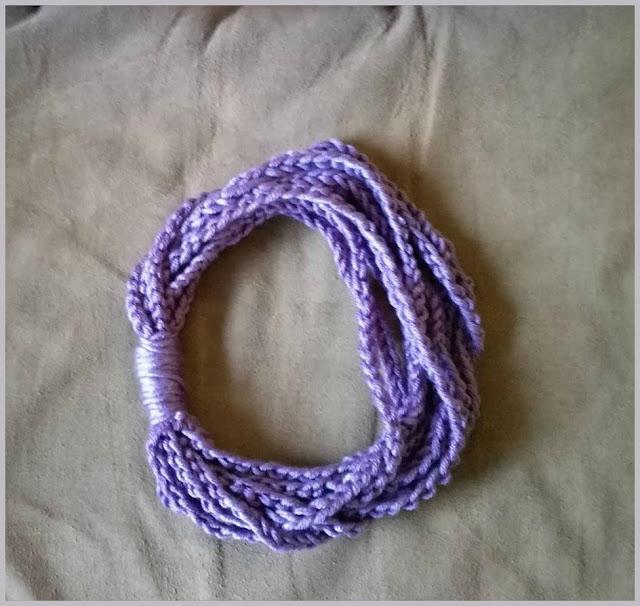 Sophia's Lullaby- Finger Crochet 1