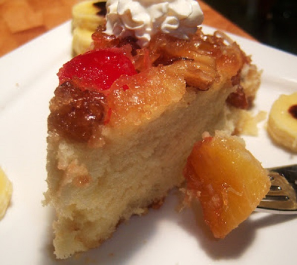 Pineapple Upside Cake From Scratch: Tropical Italian Pineapple Amaretto Upside Down Cake