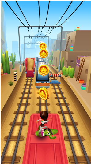 Download Subway Surfer for PC