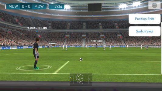 Tampilan Game PES 2018 Pro Evolution Soccer Android