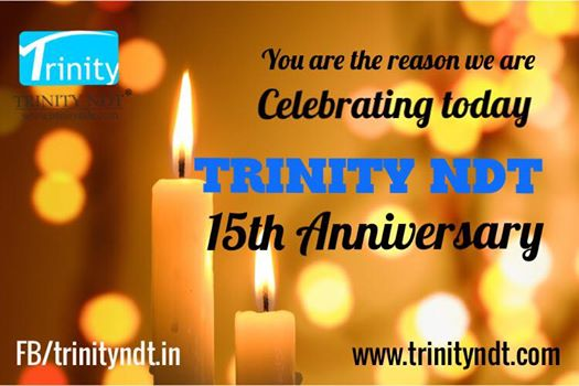 15th Anniversary Celebrated on 1st Dec 2016