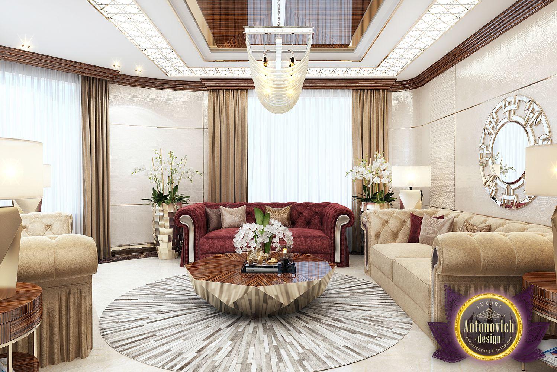 Luxury Antonovich Design Uae Living Room Design In Nigeria Abuja