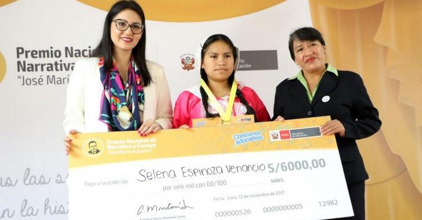 MINEDU: Estudiantes de Huánuco, Arequipa y Lima ganan concurso de narrativa en lengua originaria - www.minedu.gob.pe