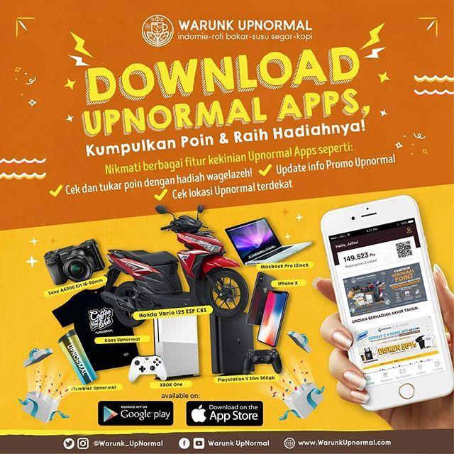 #Upnormal - #Promo Kumpulkan POIN & Dapatkan Hadiah Motor, MacBoock,dll