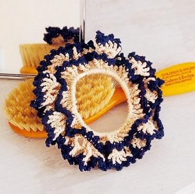 Goma para el Pelo en Crochet Patron