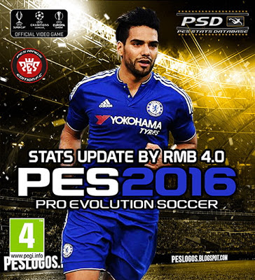 PES 2016 Update Stats V4.0 untuk PTE Patch 5.1