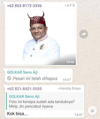 Ketua AMPG Bandarlampung Diduga Hina Pakaian Adat Lampung