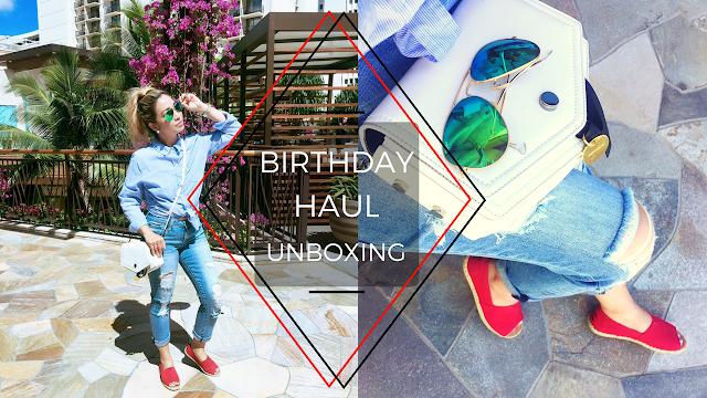birthday 2017 haul, birthday unboxing, birthday presents unboxing