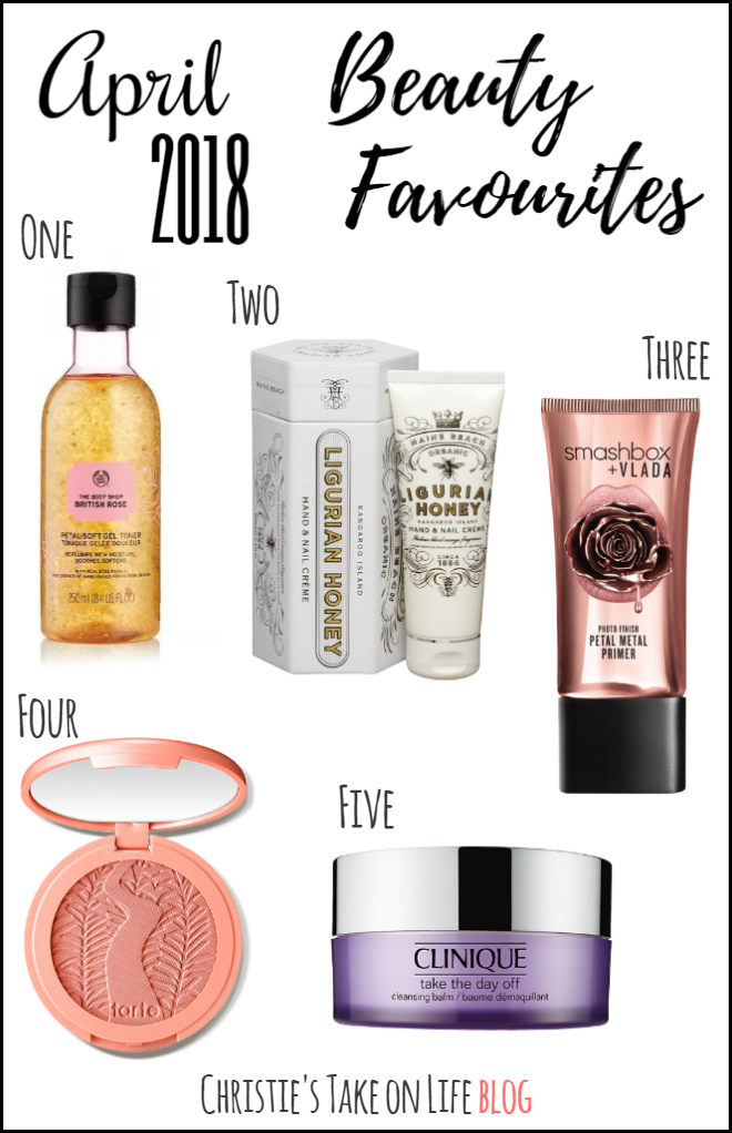 My fave makeup, skincare and beauty products in April