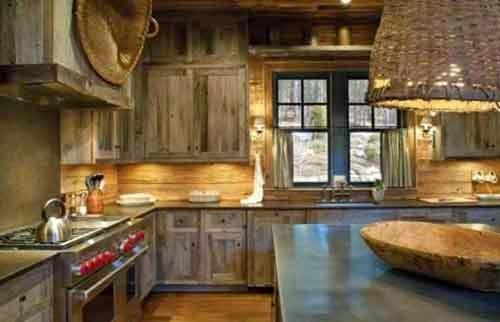 33 Dapur Sederhana Pedesaan Paling Baru