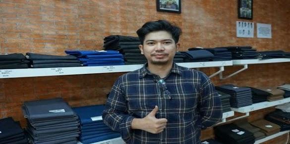 Muhammad Ali Akbar Taufani : Sukses Berbisnis Celana Jeans Meski Sempat Dilarang Orang Tua