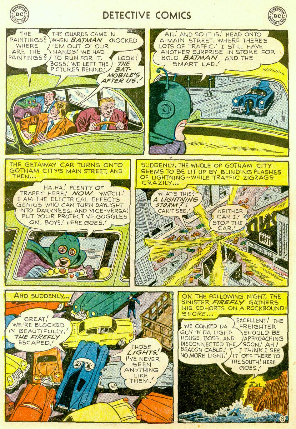 Read online Detective Comics (1937) comic -  Issue #184 - 10