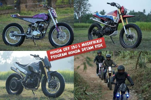 Honda CRF 150 L Modifikasi Hasil Honda Dream Project 2018