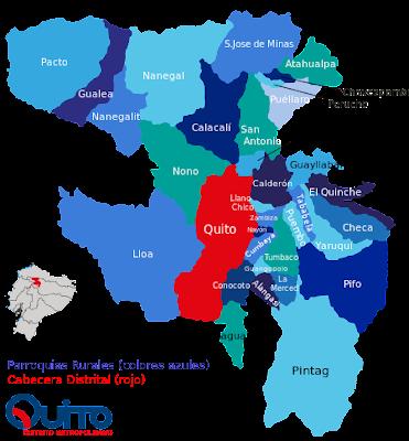 mapa politico dmq