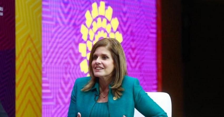 Gobierno busca que niños tengan educación de calidad, sostiene la segunda vicepresidenta de la República, Mercedes Aráoz