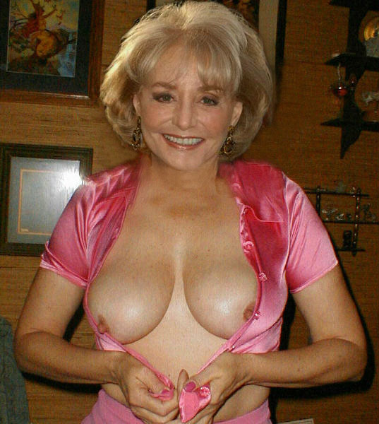 barbara walters boobs