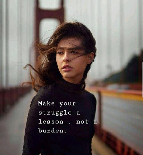 STRUGGLE AND GET SUCCEED