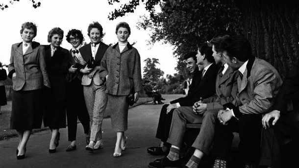 be95c5515adf Post War Fashion -moda post guerra- y los Teddy Boys -moda en los jóvenes  en la decada del 50-.