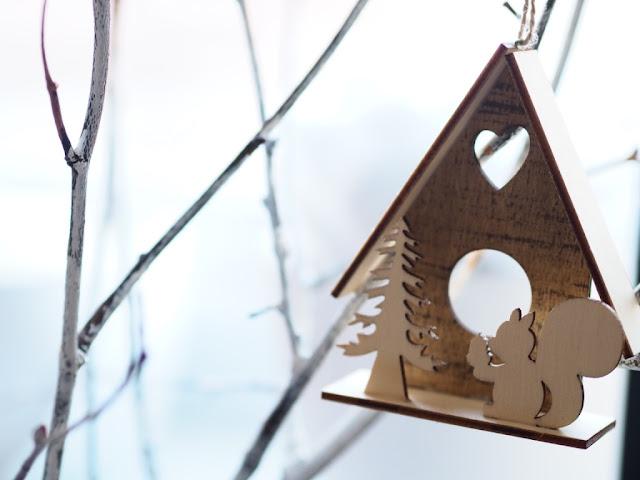 christmas tree rustic decoration