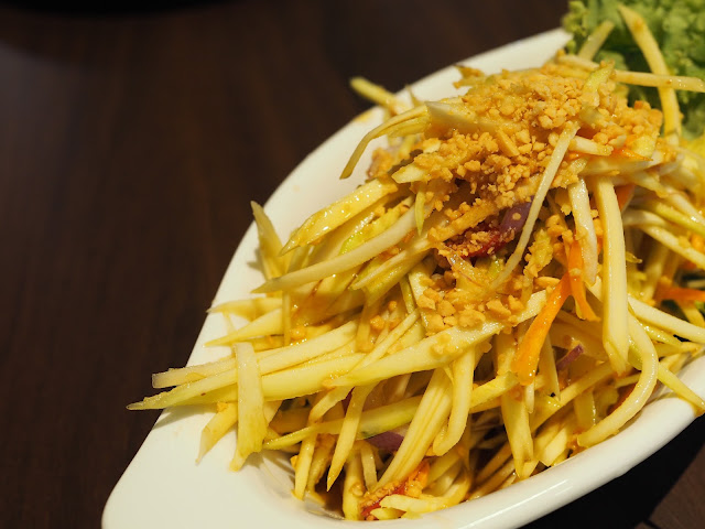 GREAThai Mango Salad Review Singapore