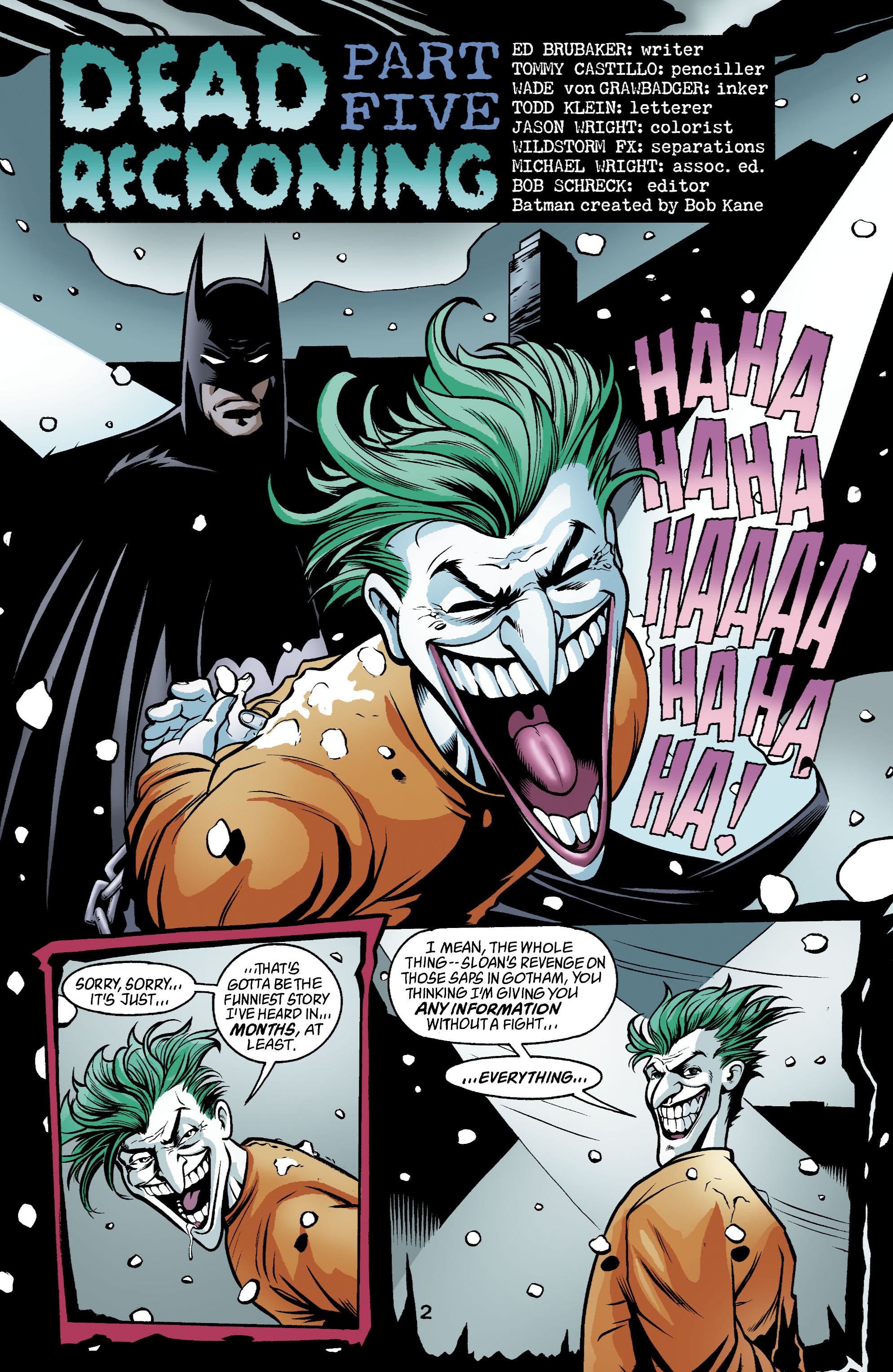 Detective Comics (1937) 781 Page 2