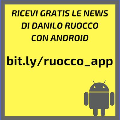 Scarica l'app Android di Danilo Ruocco