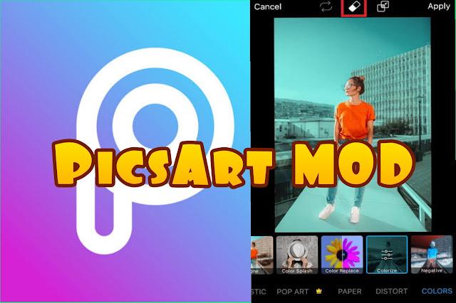 Download PicsArt MOD Versi terbaru 2019.Apk