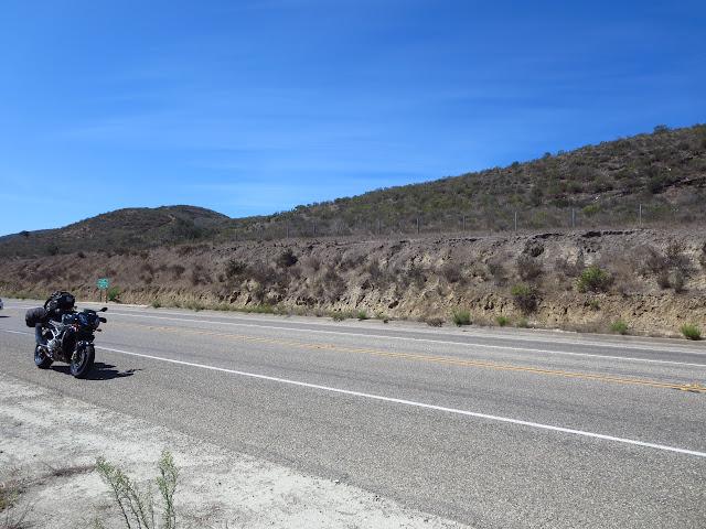 Aprilia Tuono Cabrillo Highway