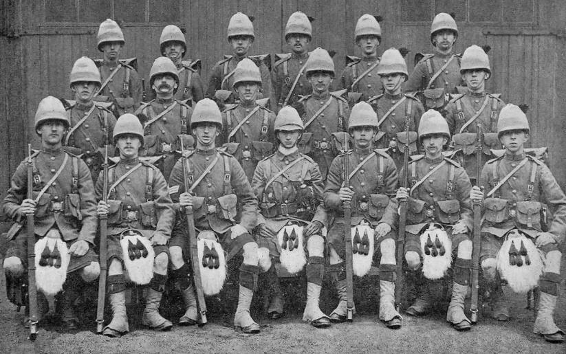 Army Service Numbers 1881 1918 The Black Watch Royal
