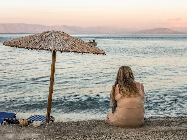looking at the ionian sea, from corfu, greece, why your brain needs you to take a holiday, mandy charlton photography blog
