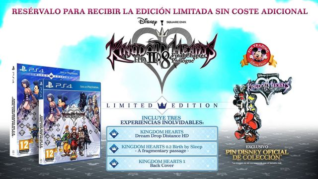 Mira la edición especial de Kingdom Hearts 2.8 HD Chapter Prologue