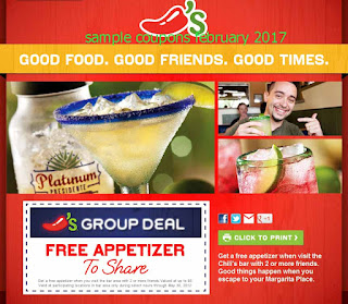 Chili's coupons february 2017