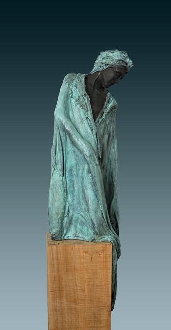 "Kieta Nuij - ""Matias"" | imagenes de obras de arte contemporaneo tristes, esculturas bellas chidas | figurative art, sculptures | kunst"