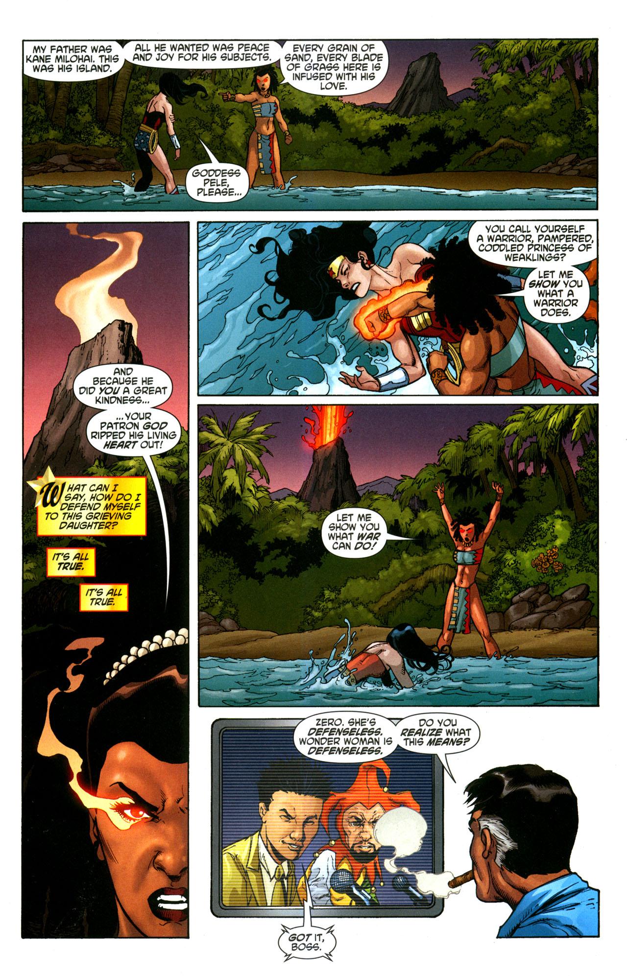 Read online Wonder Woman (2006) comic -  Issue #35 - 16