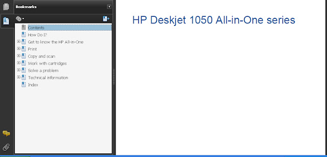 HP Deskjet 1050 Manual